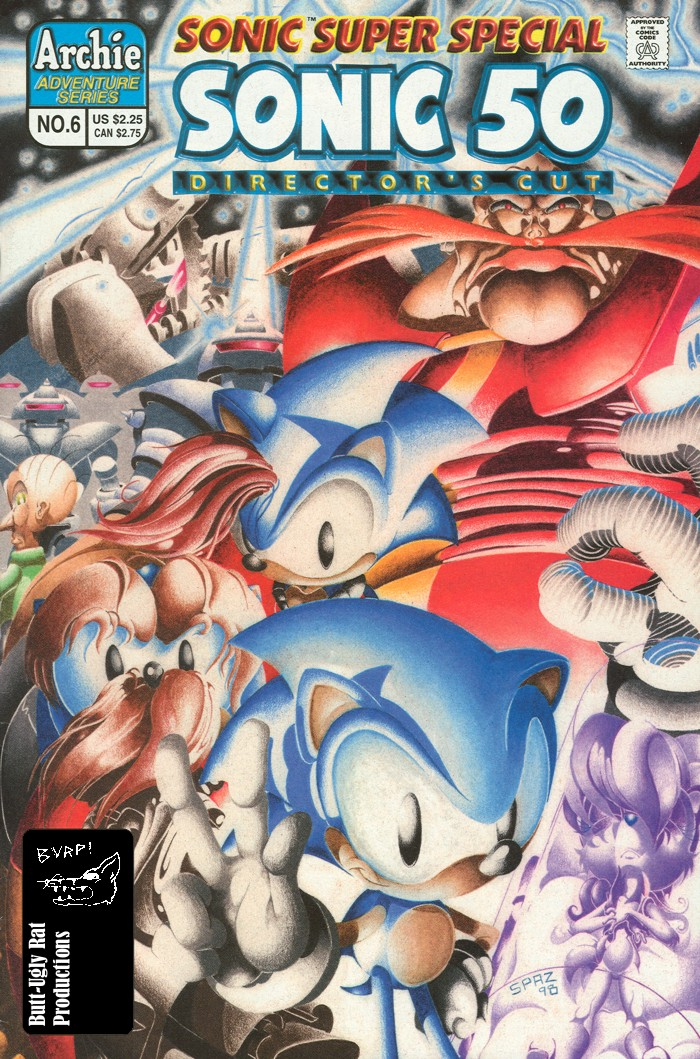 Sonic - Archie Adventure Series (Special) 1998c  Comic cover page