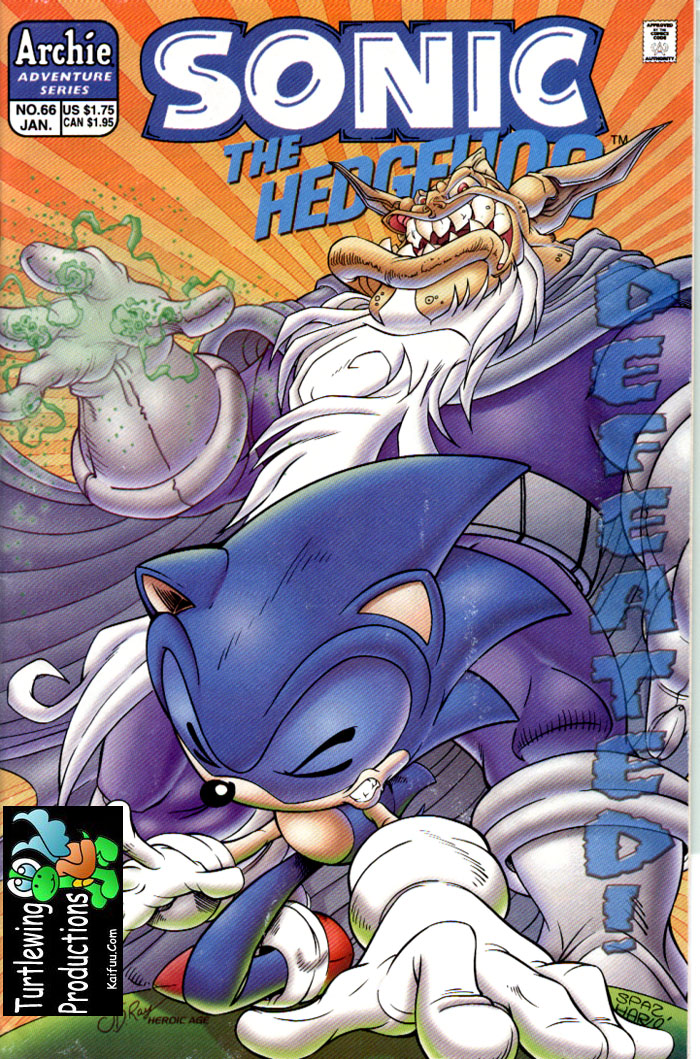 Sonic - Archie Adventure Series January 1999 Cover Page