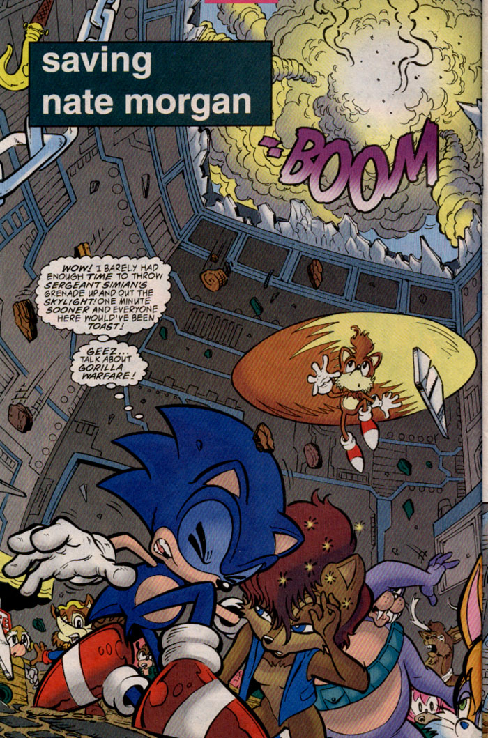 Sonic - Archie Adventure Series May 1999 Page 2