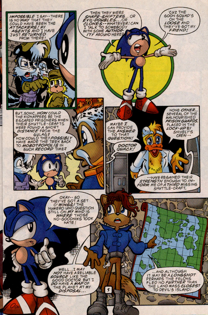 Sonic - Archie Adventure Series May 1999 Page 5
