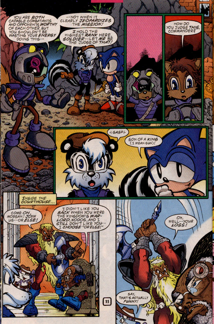 Sonic - Archie Adventure Series May 1999 Page 11