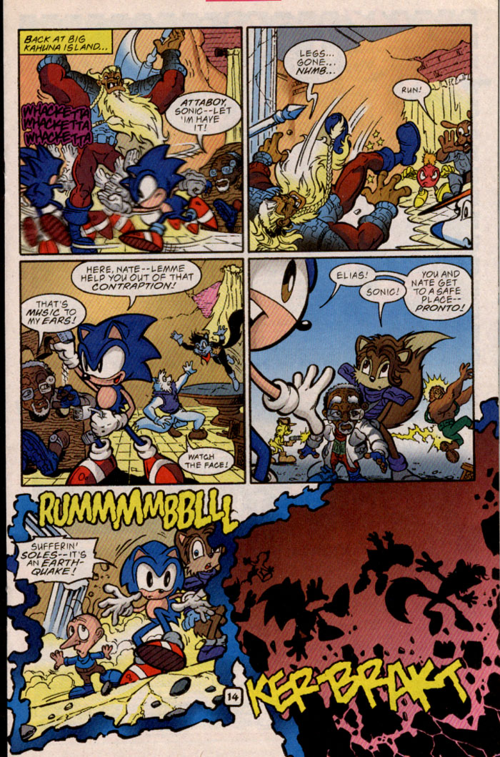 Sonic - Archie Adventure Series May 1999 Page 14