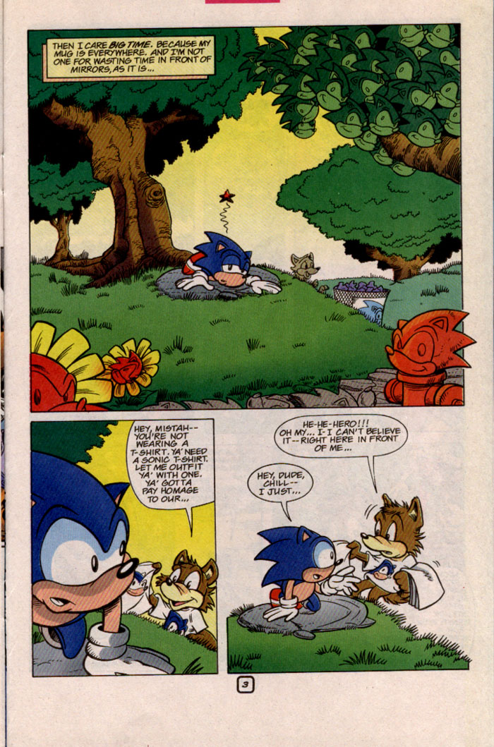 Sonic - Archie Adventure Series May 1999 Page 19