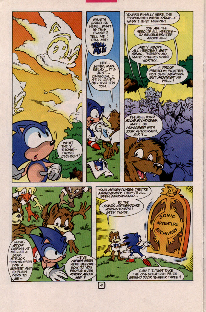 Sonic - Archie Adventure Series May 1999 Page 20