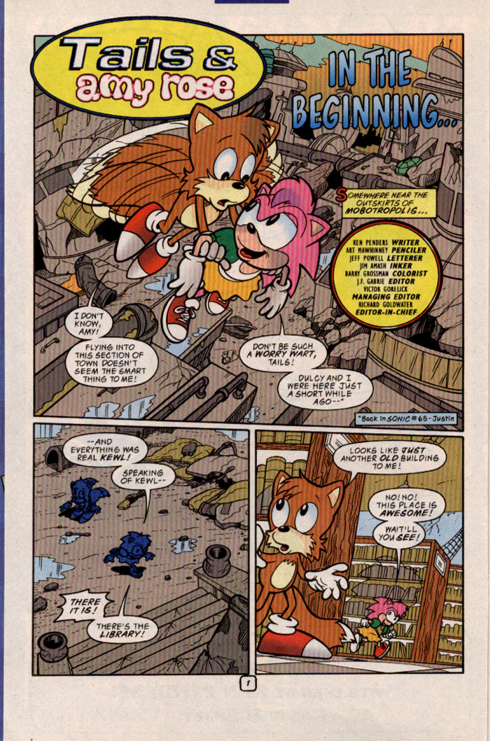 Sonic - Archie Adventure Series June 1999 Page 6