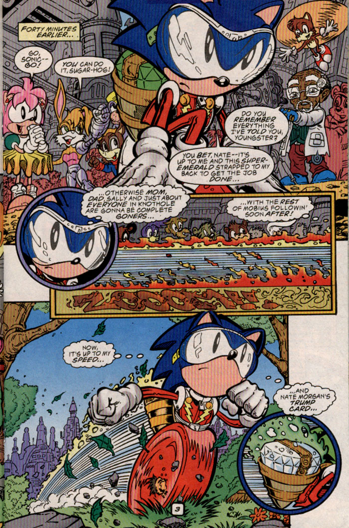 Sonic - Archie Adventure Series June 1999 Page 14