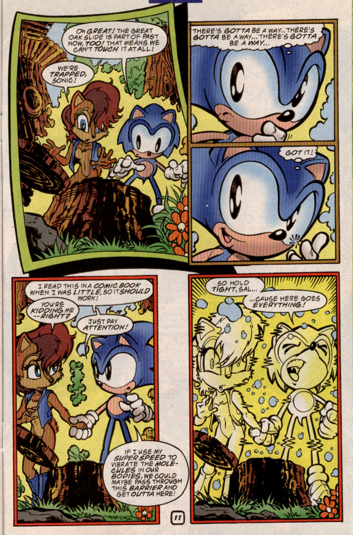 Sonic - Archie Adventure Series June 1999 Page 22