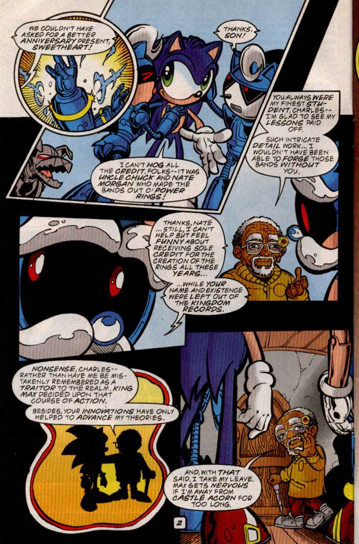 Sonic - Archie Adventure Series August 1999 Page 2