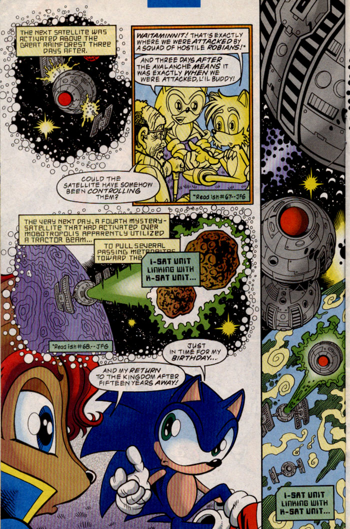 Sonic - Archie Adventure Series August 1999 Page 11
