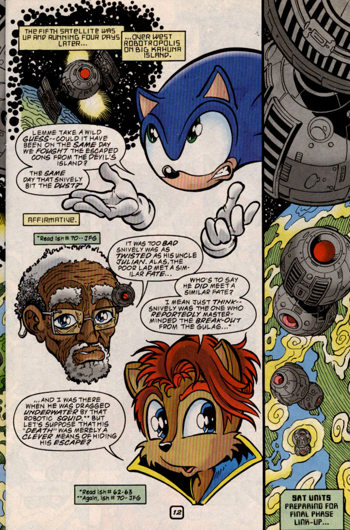 Sonic - Archie Adventure Series August 1999 Page 12