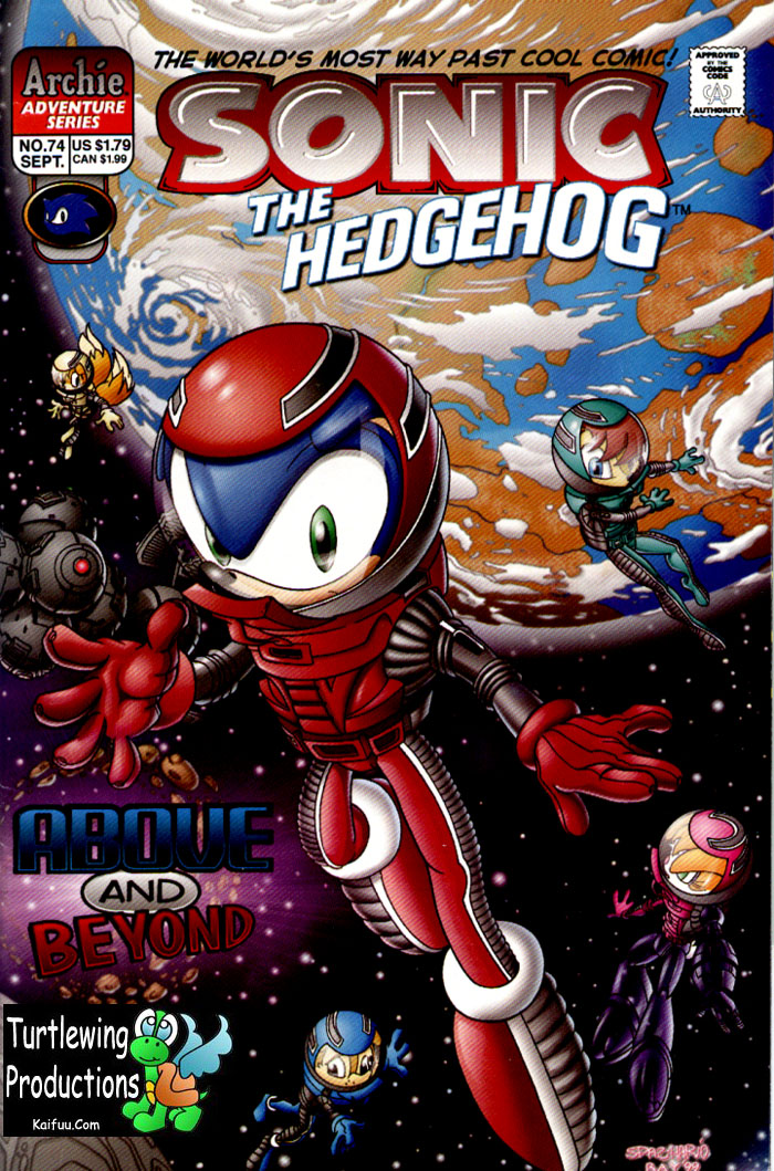 Sonic - Archie Adventure Series September 1999 Comic cover page