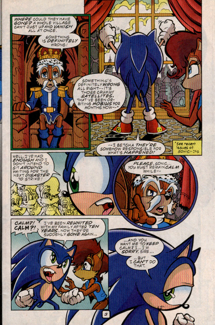 Sonic - Archie Adventure Series September 1999 Page 3