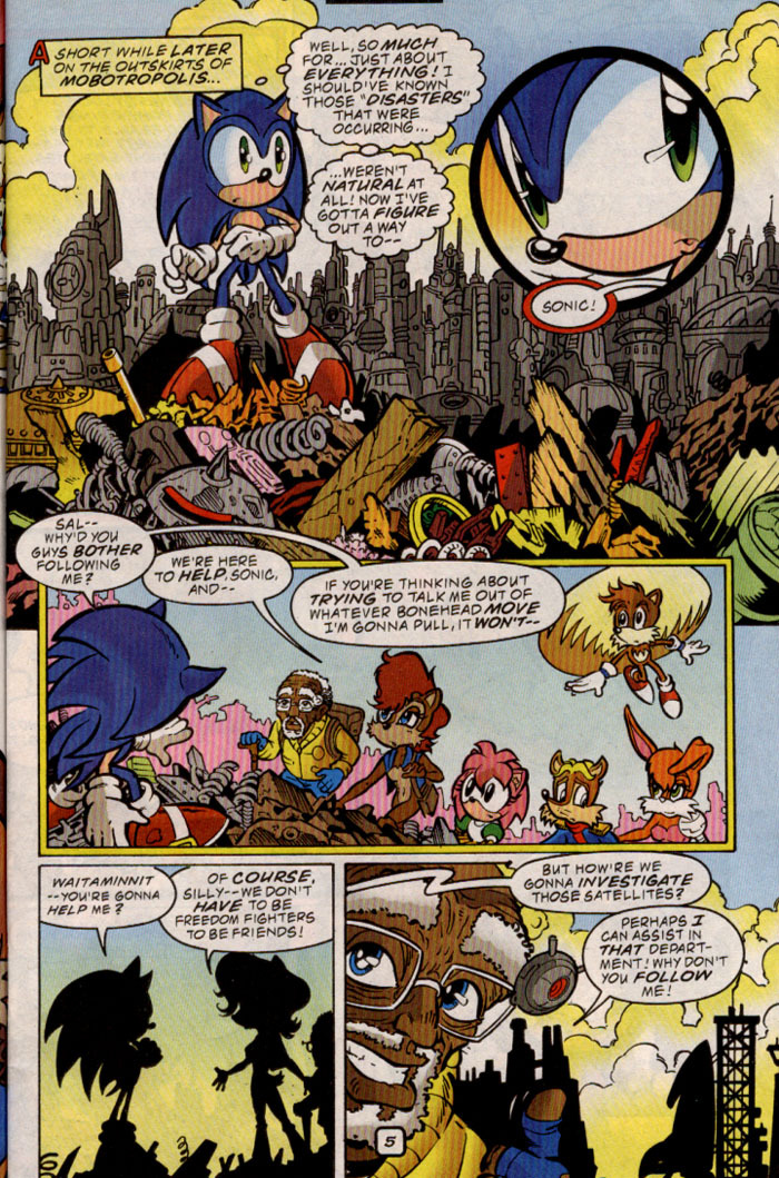 Sonic - Archie Adventure Series September 1999 Page 5