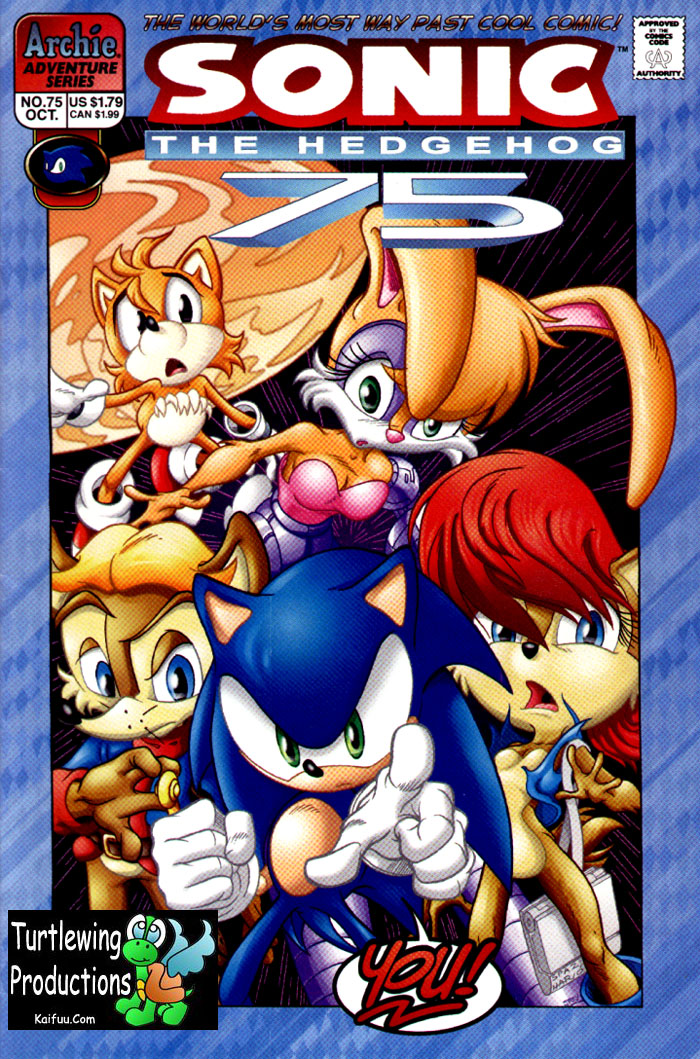Sonic - Archie Adventure Series October 1999 Comic cover page