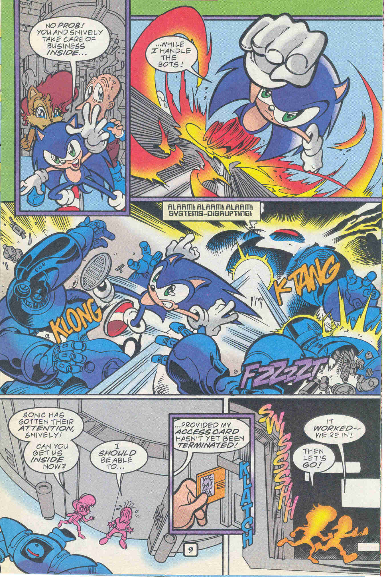 Sonic - Archie Adventure Series November 1999 Page 9