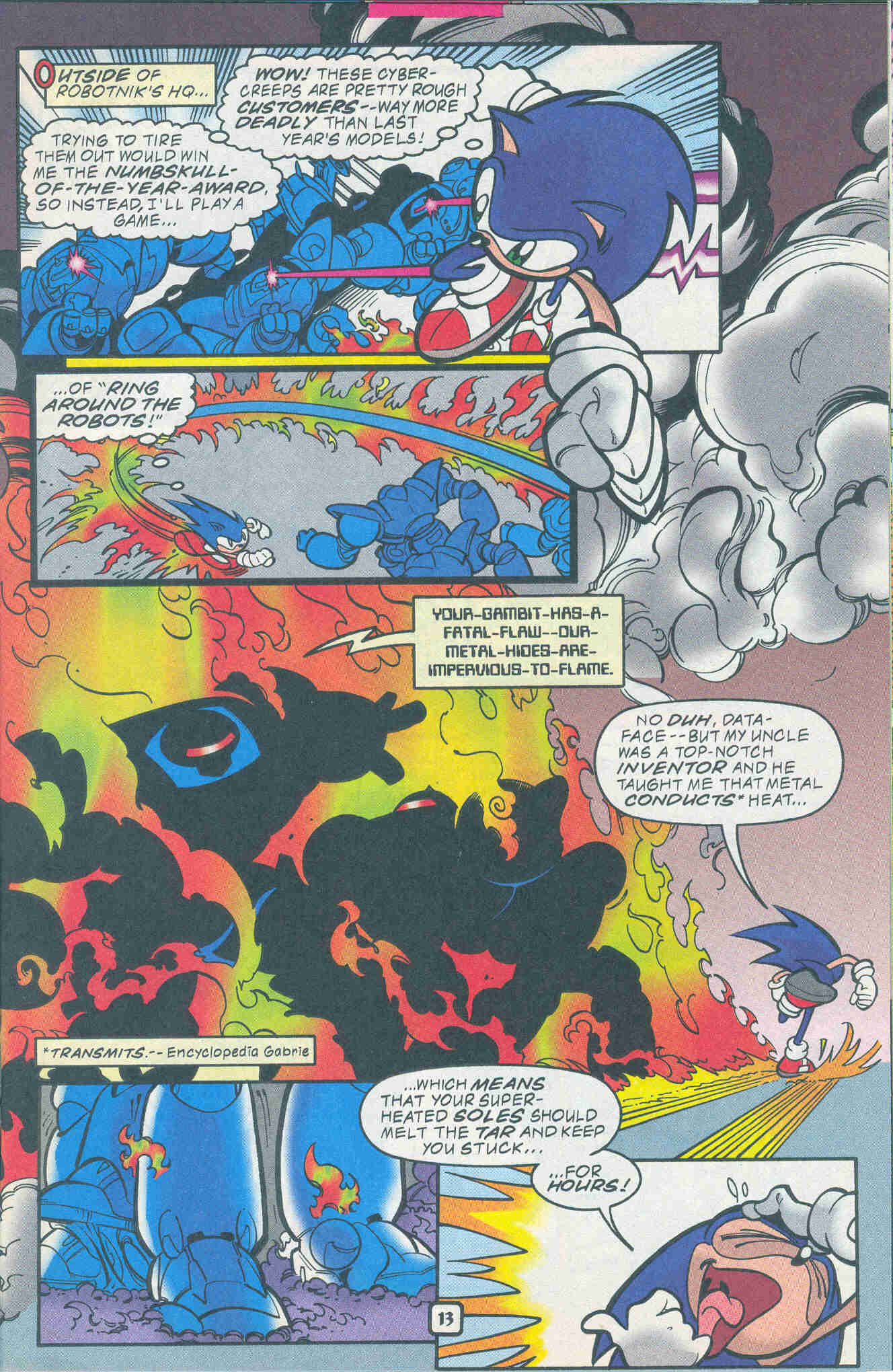 Sonic - Archie Adventure Series November 1999 Page 13