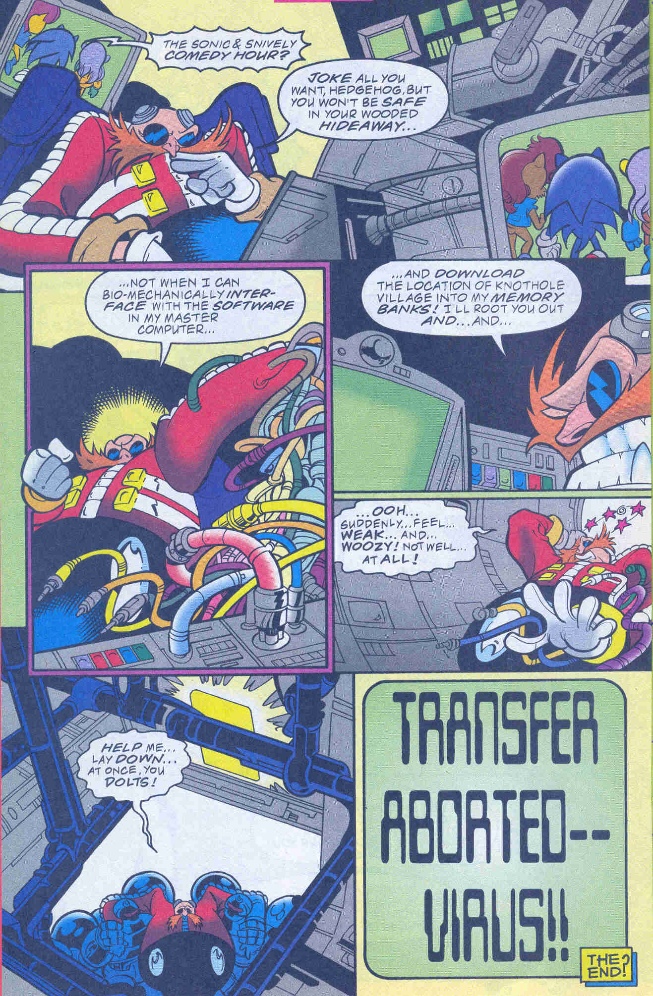 Sonic - Archie Adventure Series November 1999 Page 16