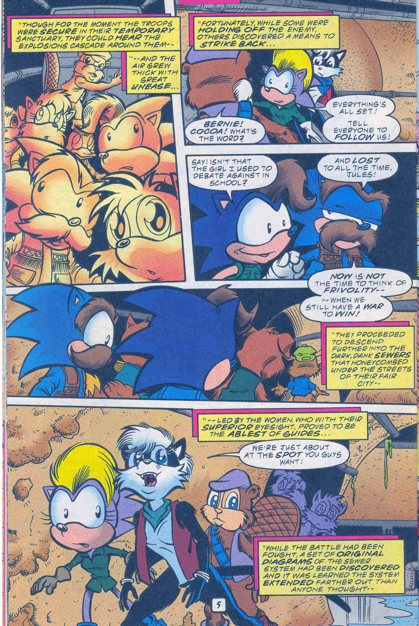 Sonic - Archie Adventure Series November 1999 Page 21