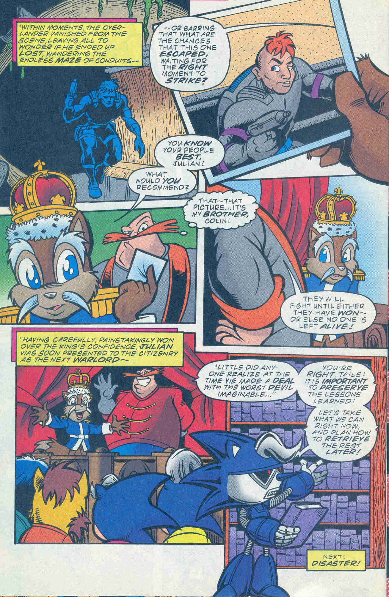 Sonic - Archie Adventure Series November 1999 Page 23