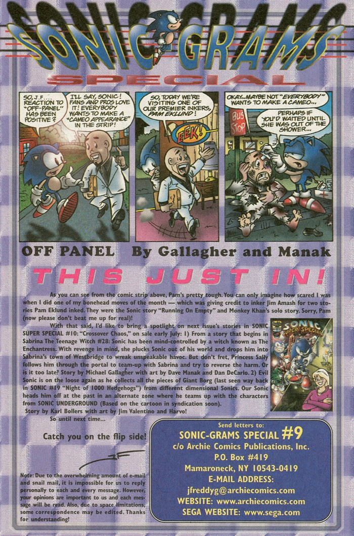 Sonic - Archie Adventure Series (Special) 1999a  Page 19