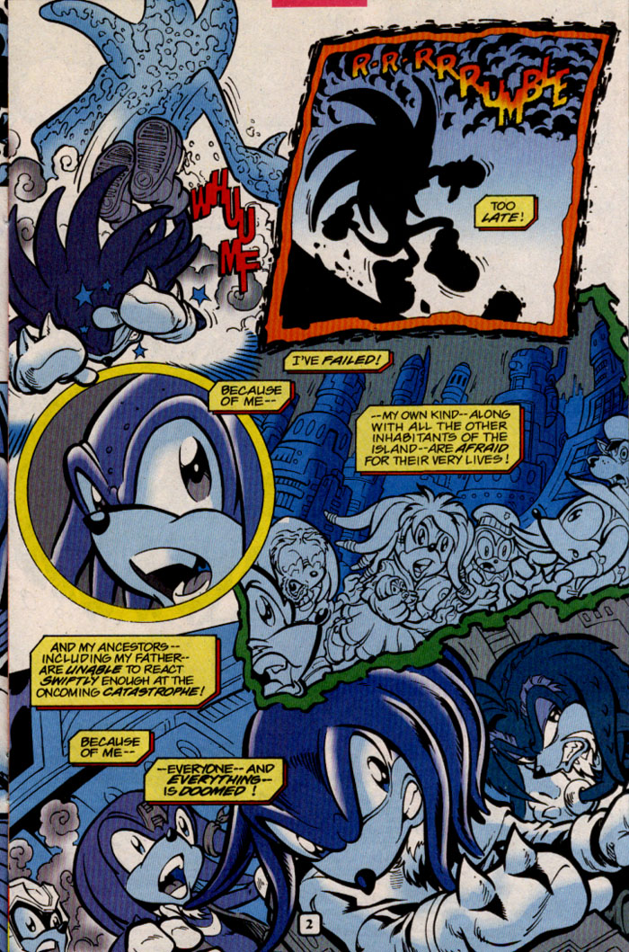 Sonic - Archie Adventure Series February 2000 Page 9