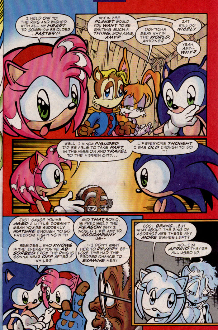 Sonic - Archie Adventure Series March 2000 Page 3
