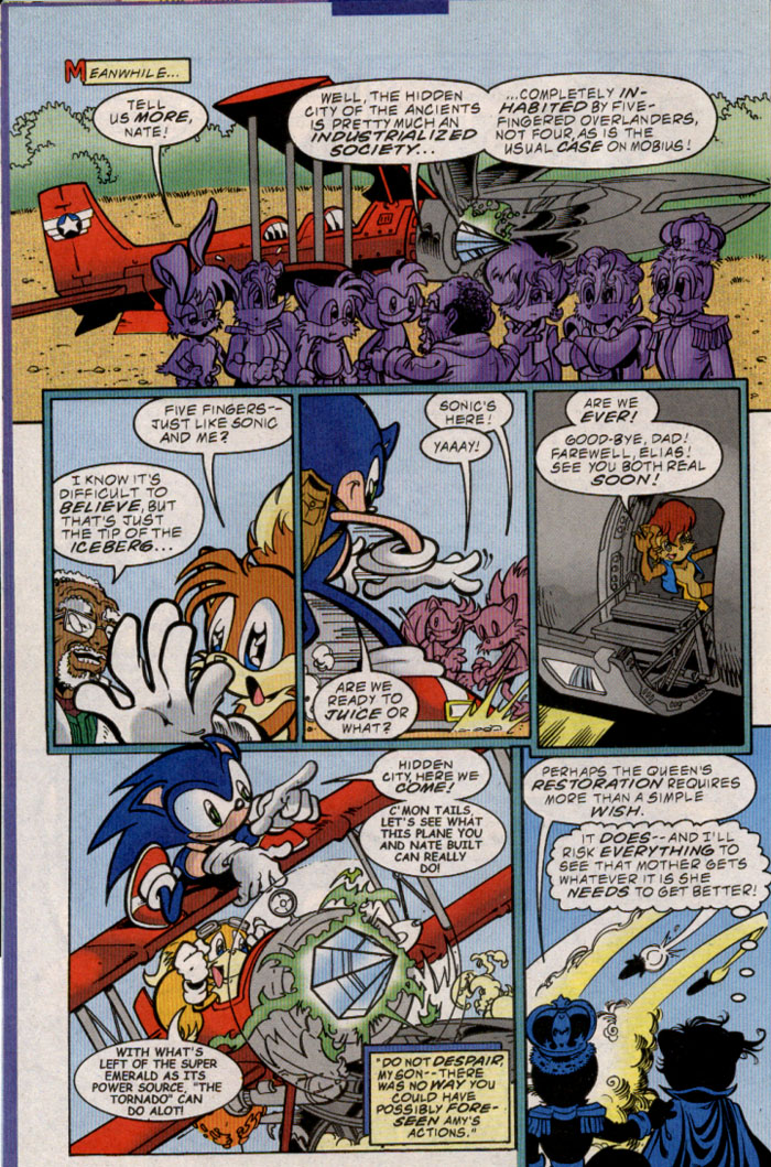 Sonic - Archie Adventure Series March 2000 Page 6