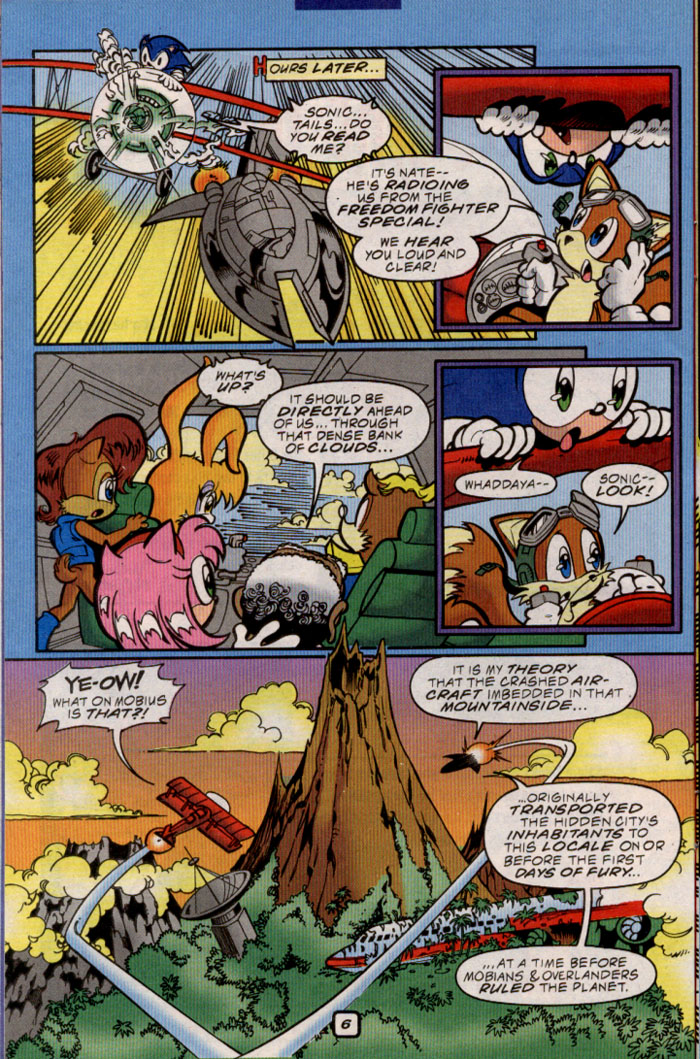 Sonic - Archie Adventure Series March 2000 Page 7