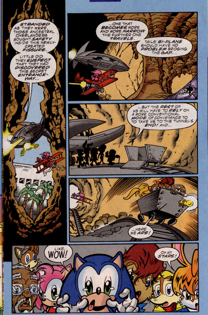 Sonic - Archie Adventure Series March 2000 Page 8
