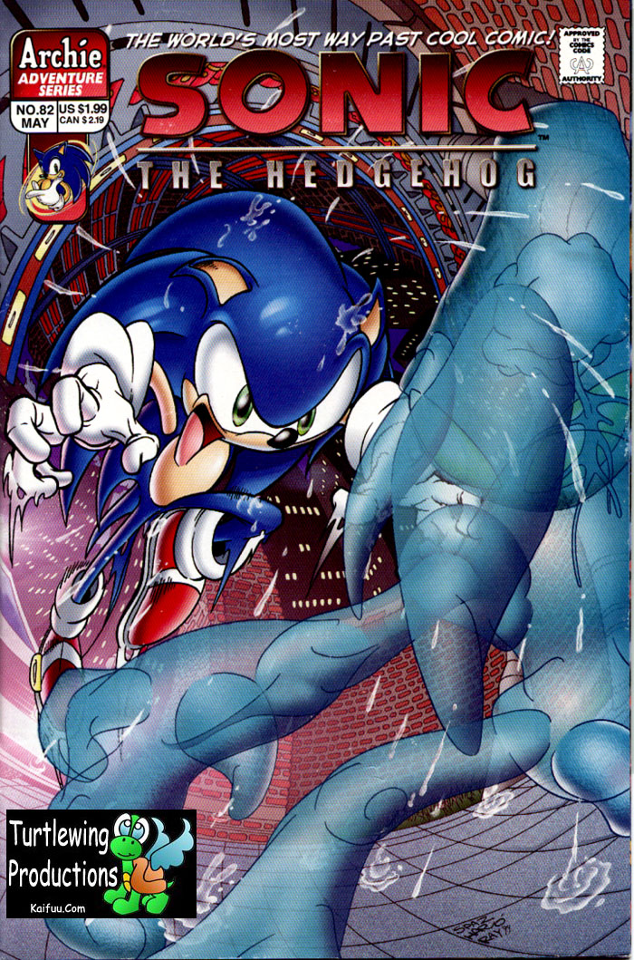Sonic - Archie Adventure Series May 2000 Cover Page