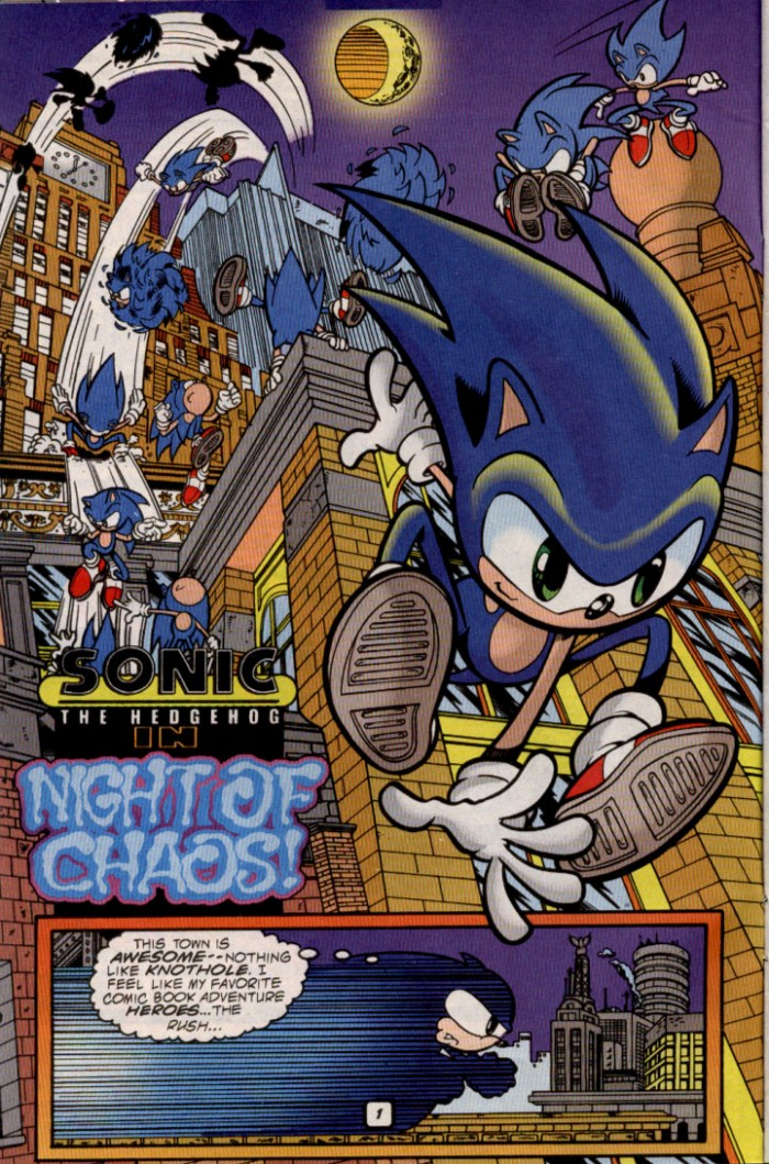 Sonic - Archie Adventure Series May 2000 Page 2