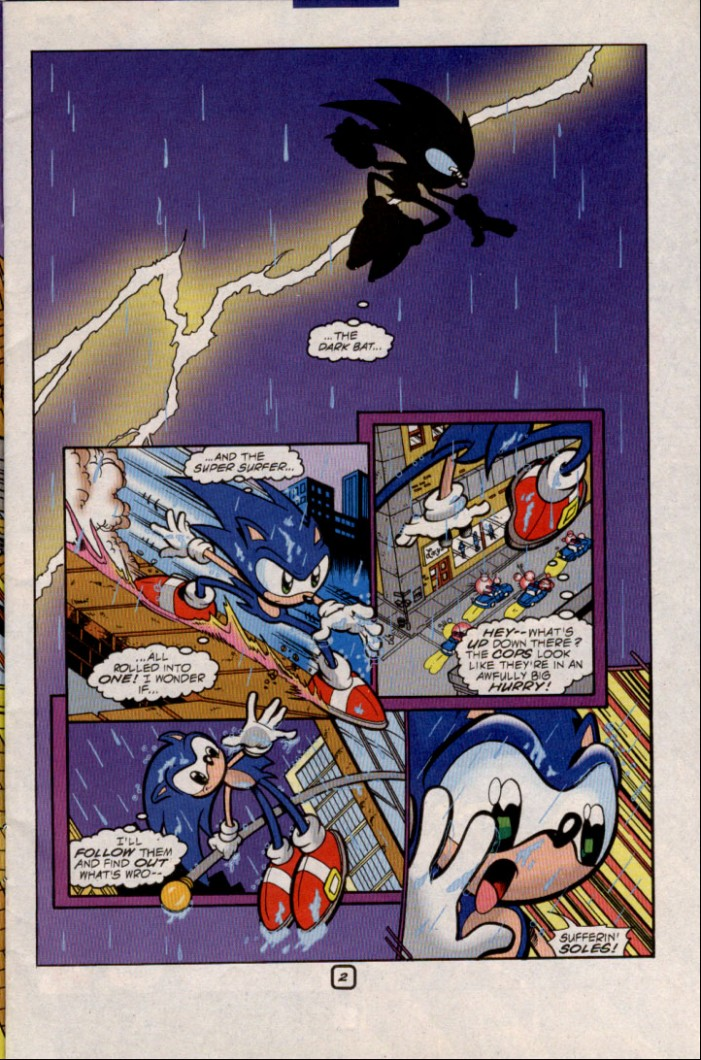 Sonic - Archie Adventure Series May 2000 Page 3