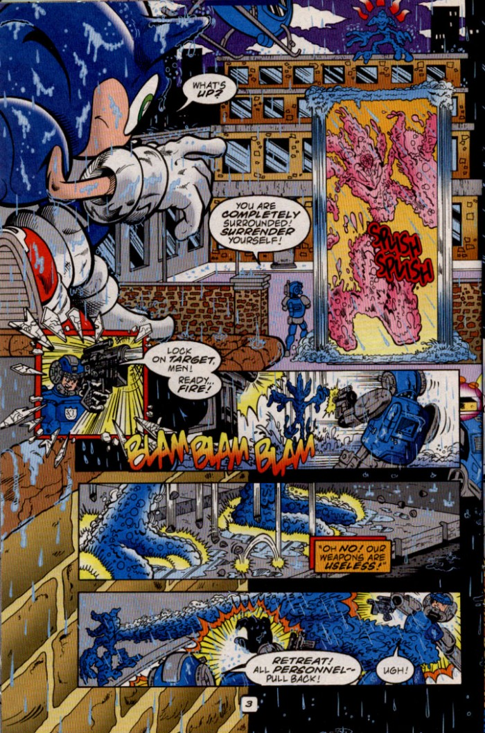 Sonic - Archie Adventure Series May 2000 Page 4