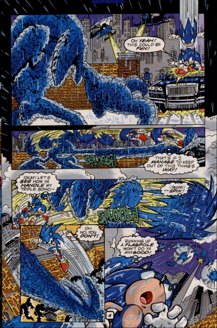 Sonic - Archie Adventure Series May 2000 Page 5