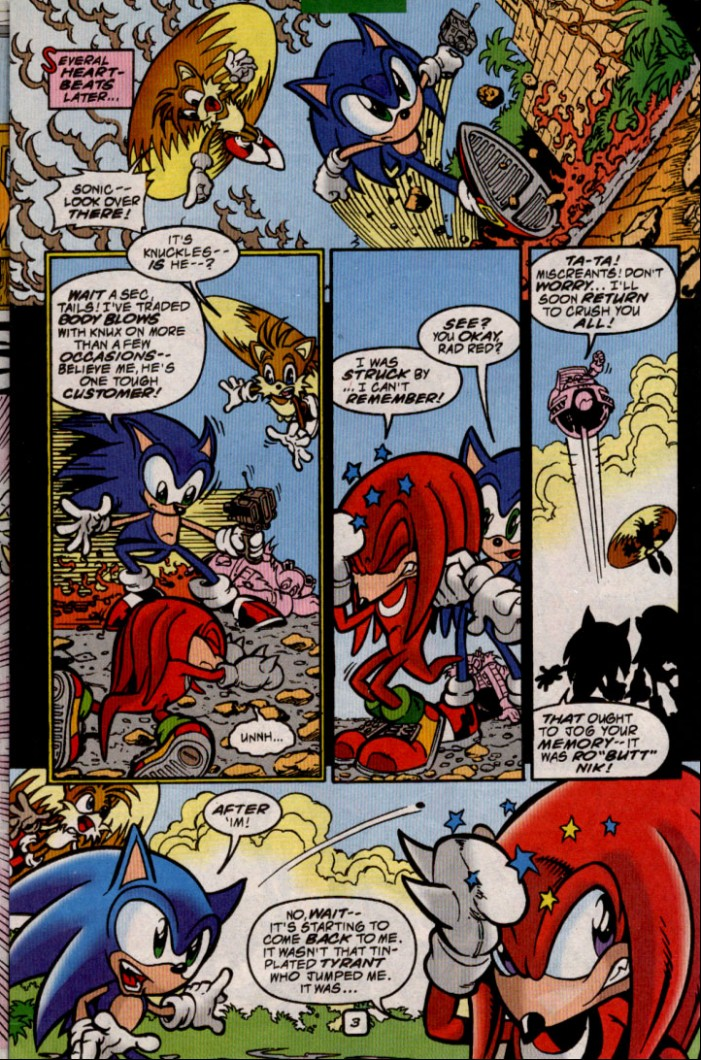 Sonic - Archie Adventure Series June 2000 Page 3