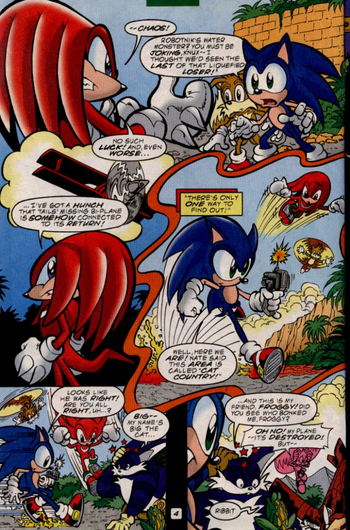 Sonic - Archie Adventure Series June 2000 Page 4