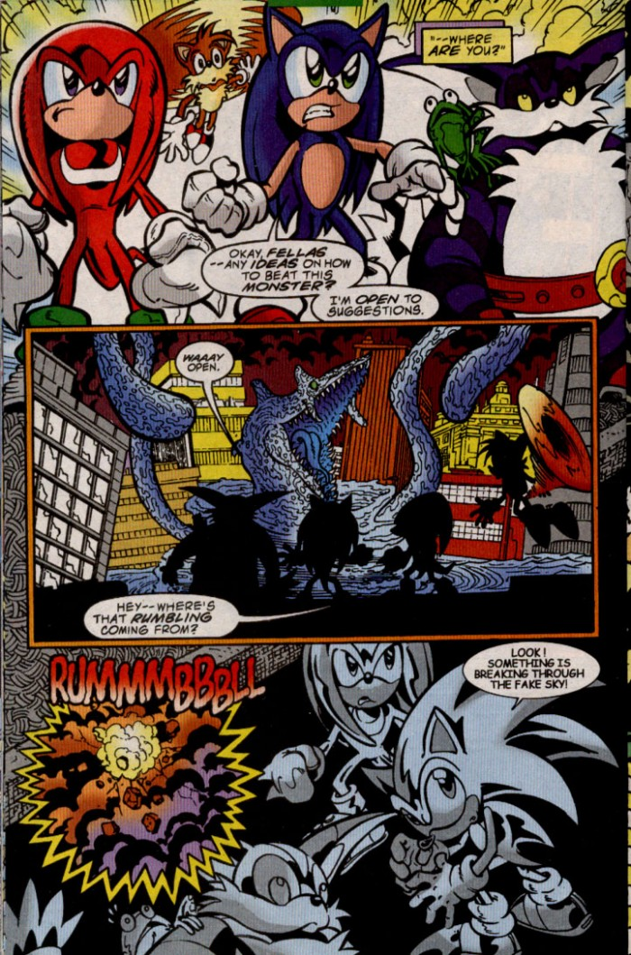 Sonic - Archie Adventure Series June 2000 Page 12