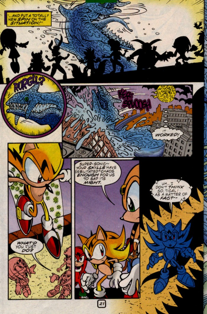 Sonic - Archie Adventure Series June 2000 Page 21