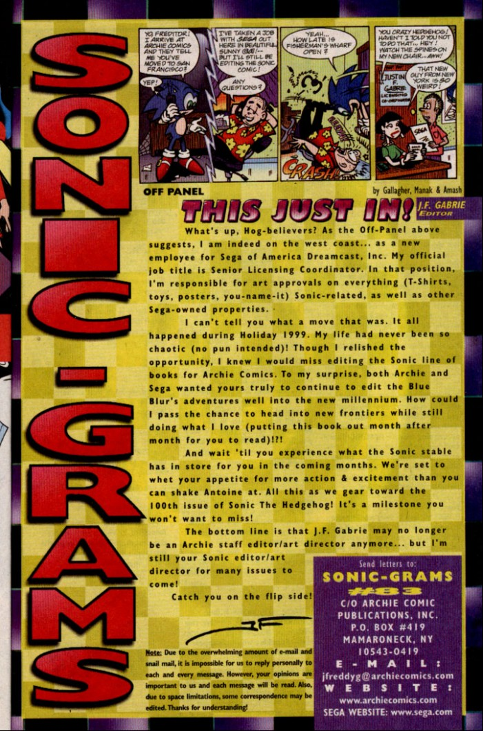 Sonic - Archie Adventure Series June 2000 Page 23