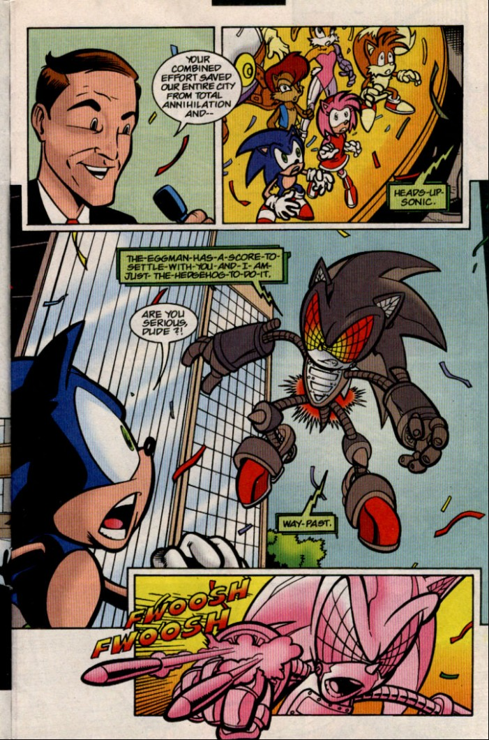 Sonic - Archie Adventure Series August 2000 Page 3