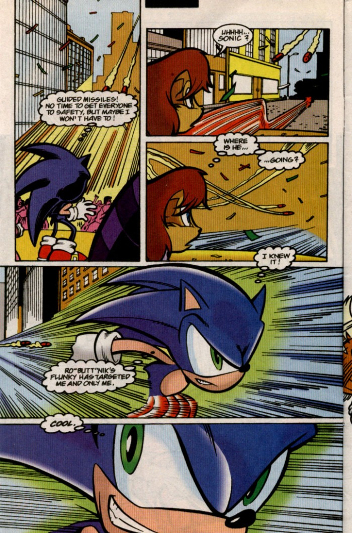 Sonic - Archie Adventure Series August 2000 Page 4