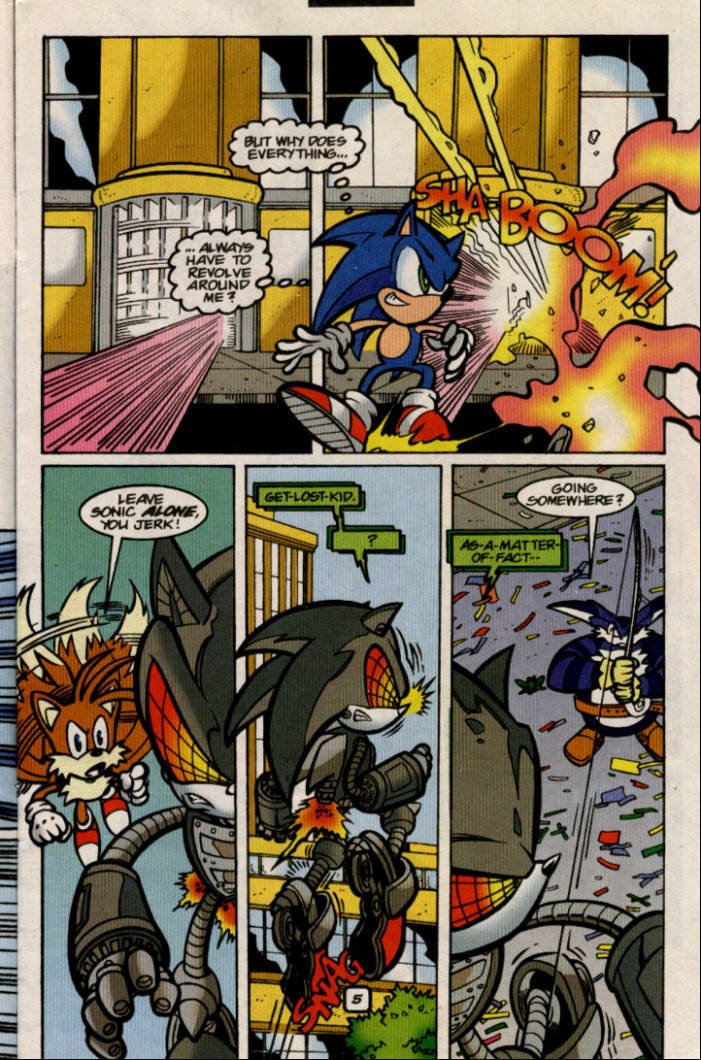 Sonic - Archie Adventure Series August 2000 Page 5