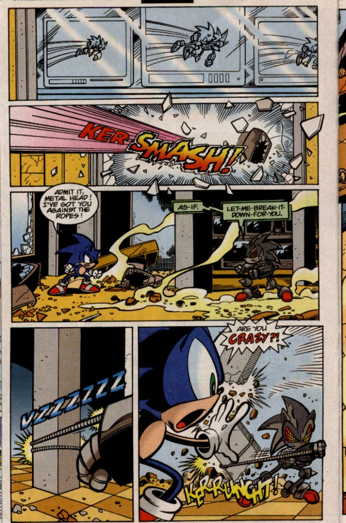 Sonic - Archie Adventure Series August 2000 Page 7