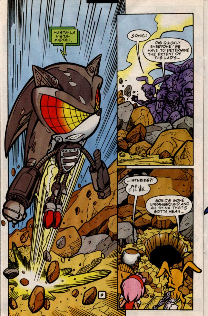 Sonic - Archie Adventure Series August 2000 Page 9