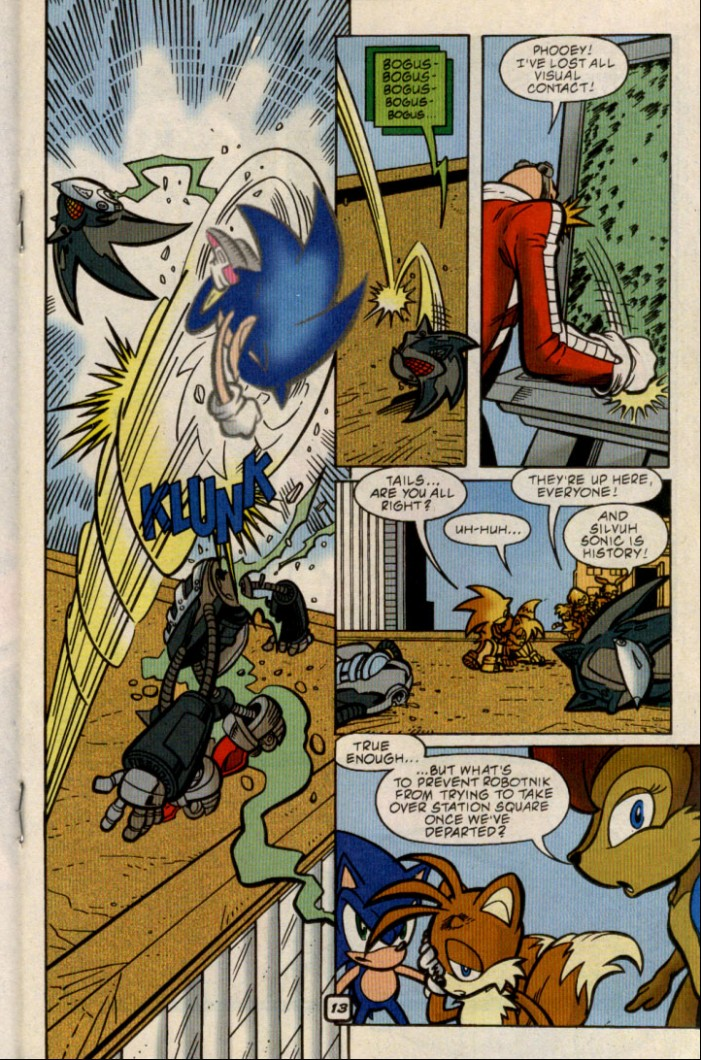 Sonic - Archie Adventure Series August 2000 Page 13