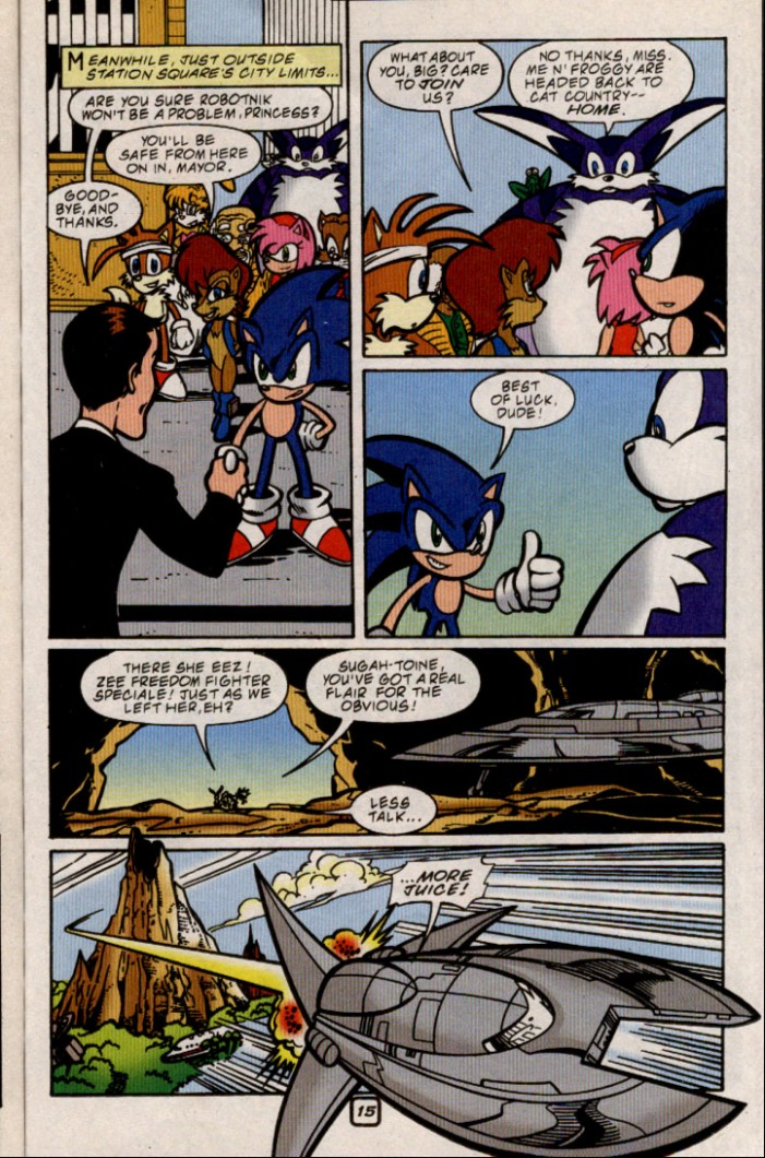 Sonic - Archie Adventure Series August 2000 Page 15