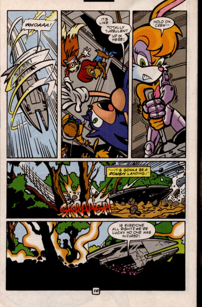 Sonic - Archie Adventure Series August 2000 Page 16