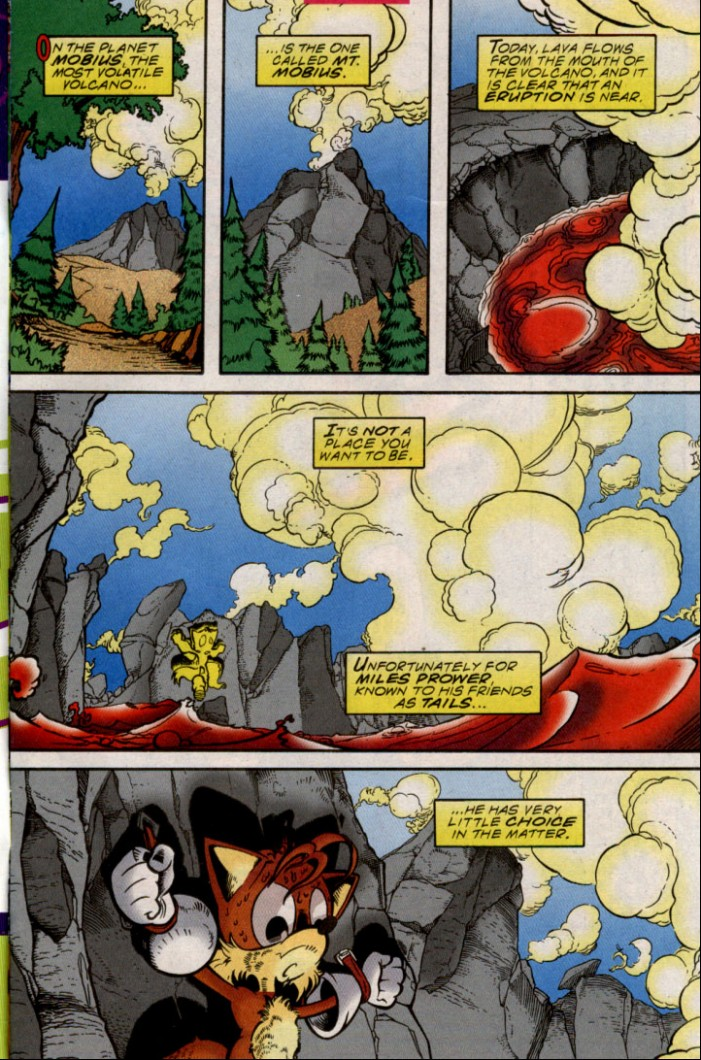 Sonic - Archie Adventure Series October 2000 Page 1