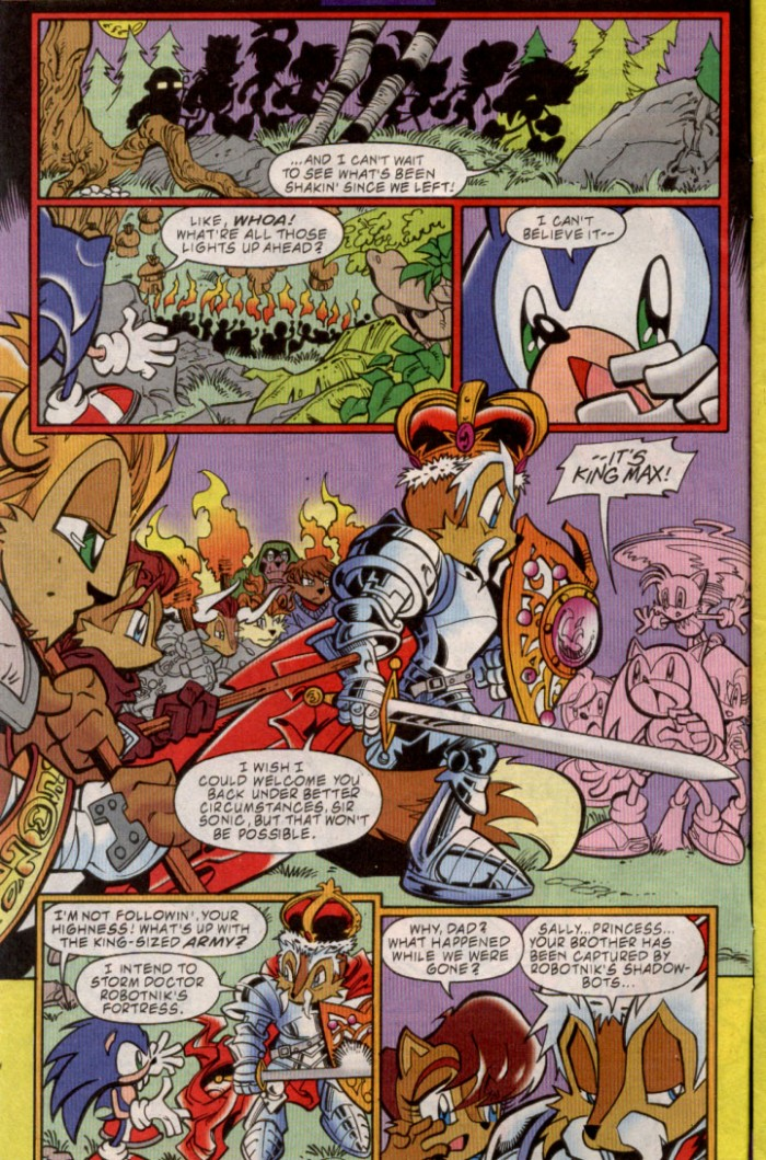 Sonic - Archie Adventure Series November 2000 Page 2