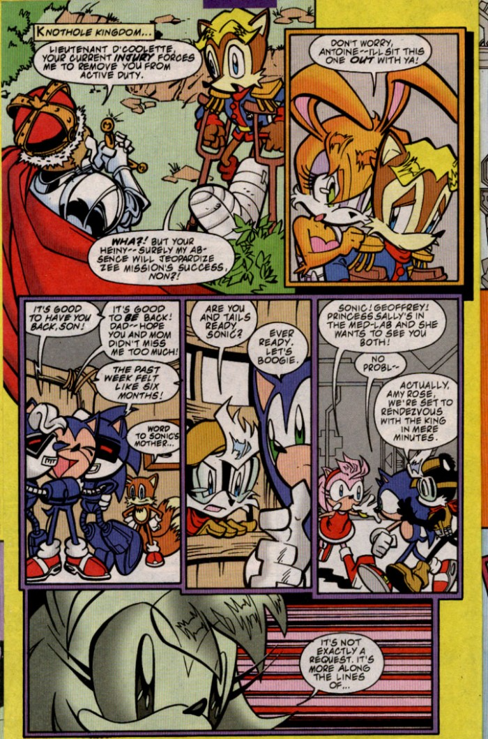 Sonic - Archie Adventure Series November 2000 Page 6